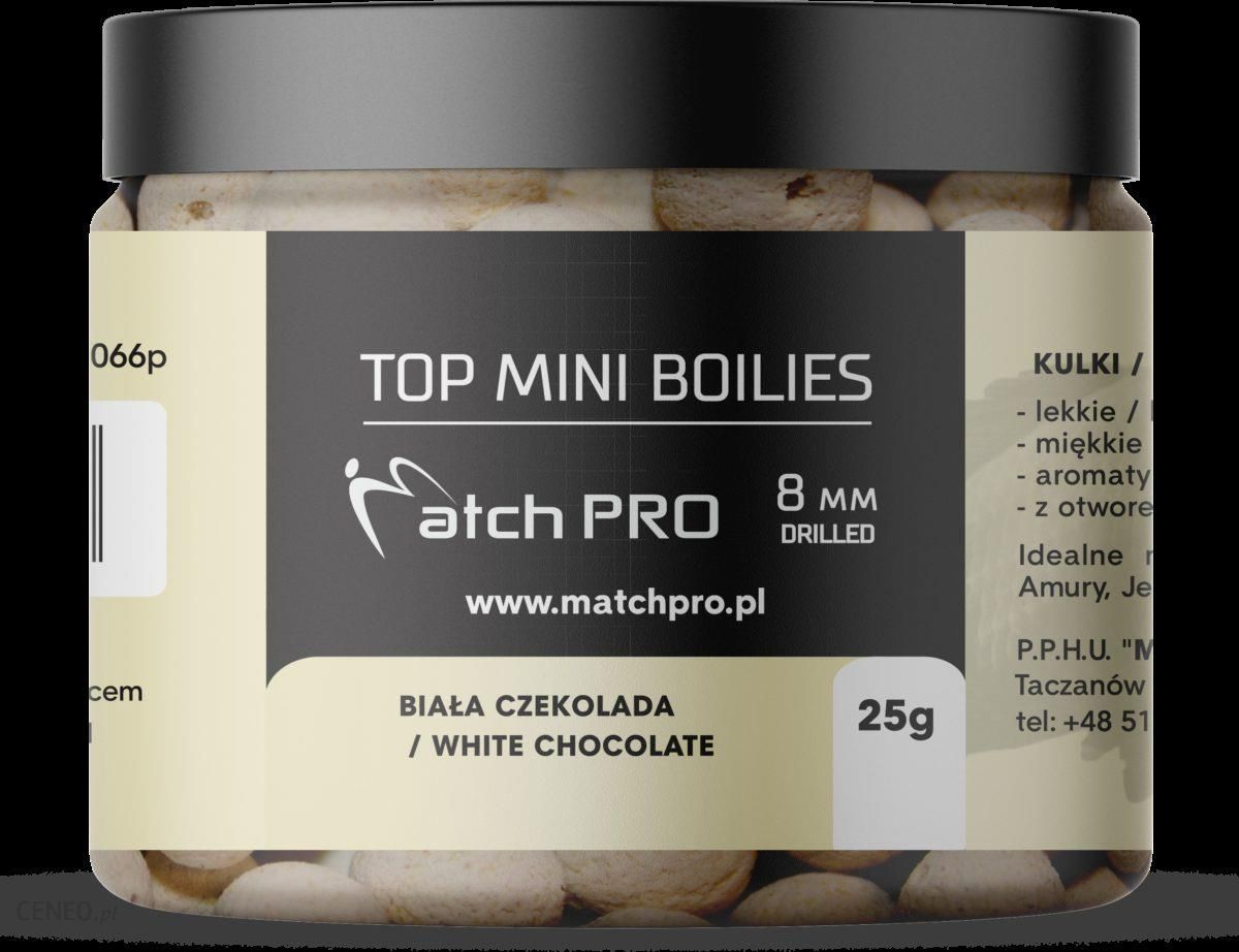 Matchpro Top Boilies Kulki White Chocolate 8Mm 25G