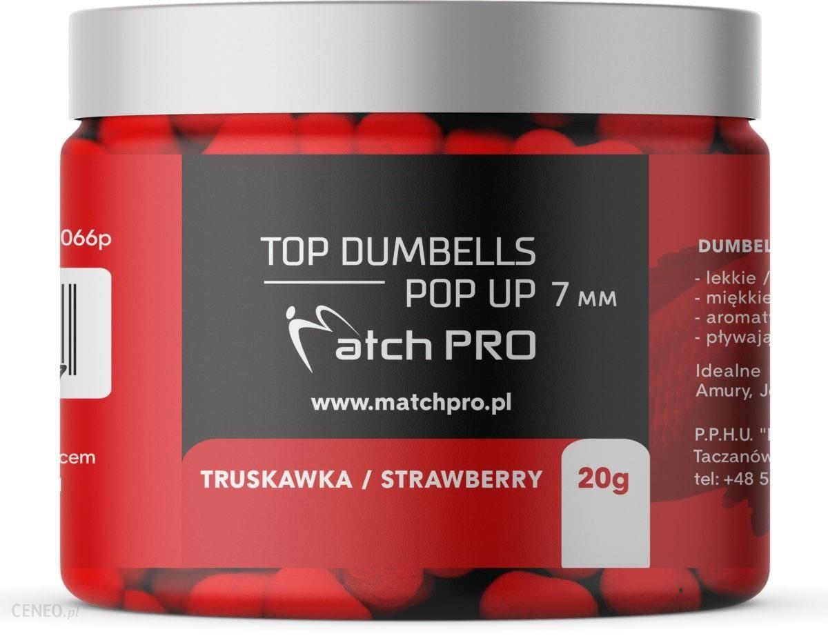 Matchpro Top Dumbells Pop-Up Strawberry 7Mm 20G