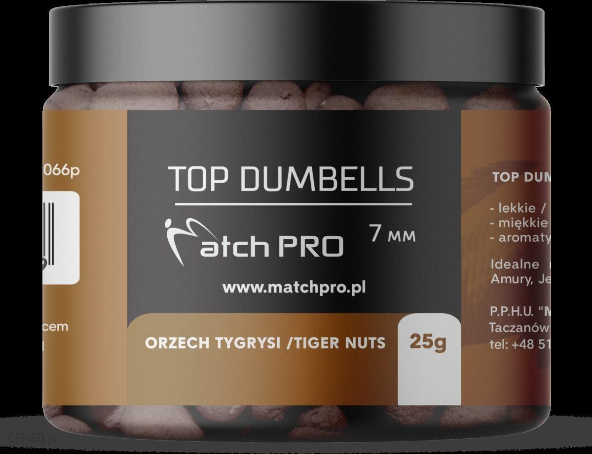 Matchpro Top Dumbells Tiger Nuts 7Mm 25G
