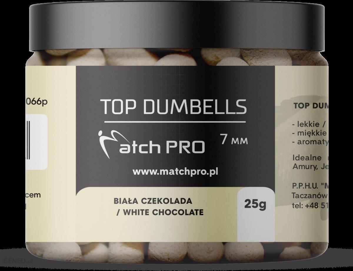 Matchpro Top Dumbells White Chocolate 7Mm 25G