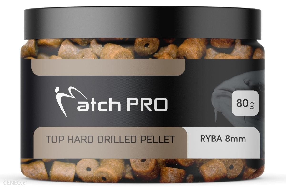 Matchpro Top Hard Ryba 8Mm Drilled Pellet 80G