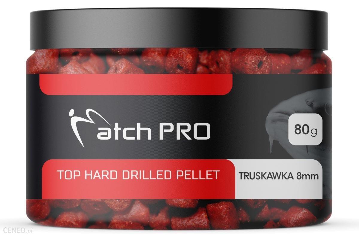 Matchpro Top Hard Truskawka 8Mm Drilled Pellet 80G