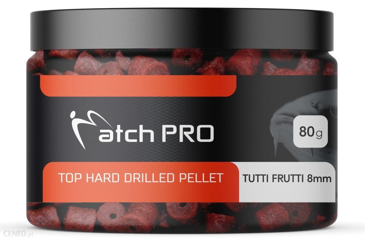 Matchpro Top Hard Tutti Frutti 8Mm Drilled Pellet 80G