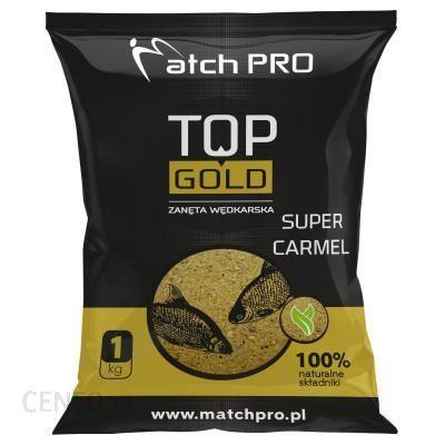 Matchpro Zanęta Top Gold Super Carmel 1Kg