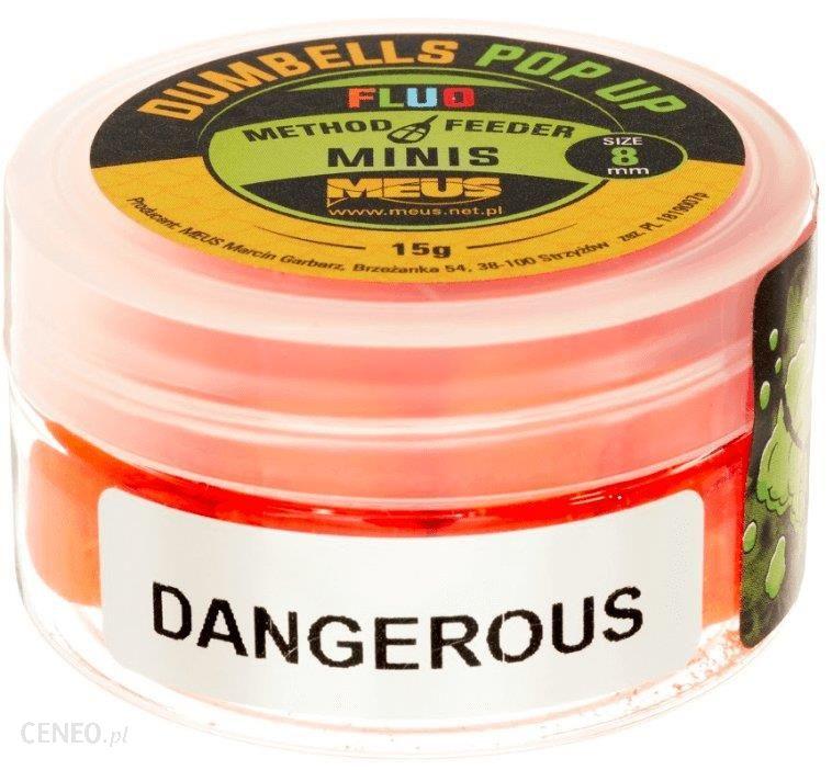 Meus Dumbells Fluo Pop Up 8Mm Dangerous Minis