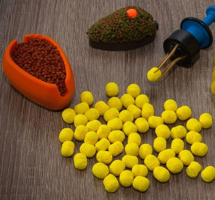 Meus Dumbells Fluo Pop Up 8Mm Lemon Shock