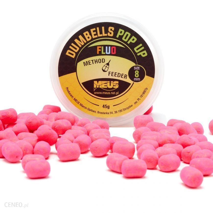 Meus Dumbells Fluo Pop Up 8Mm Miód & Malina Minis