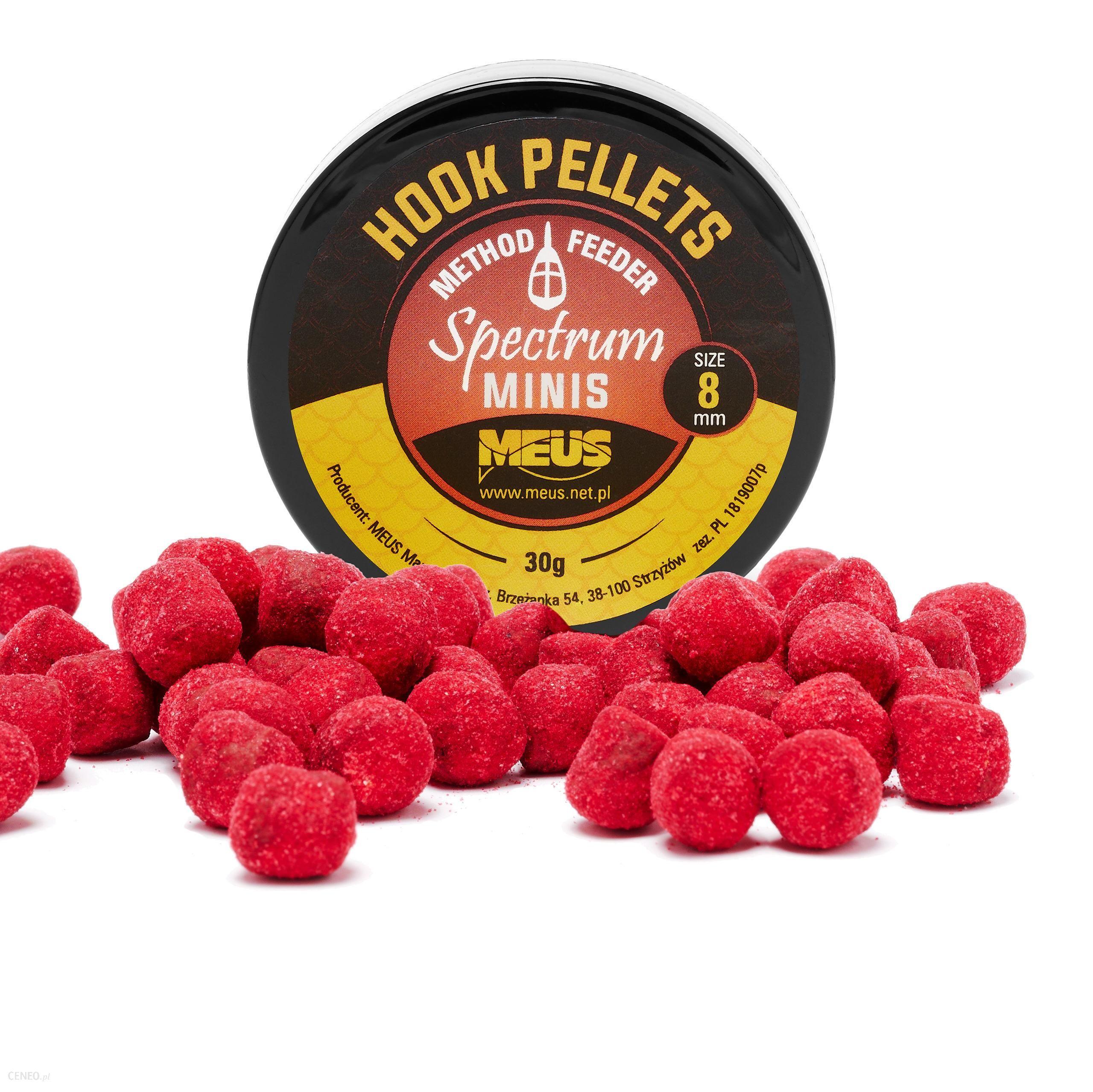Meus Hook Pellets Spectrum 8Mm Ognista Róża Minis