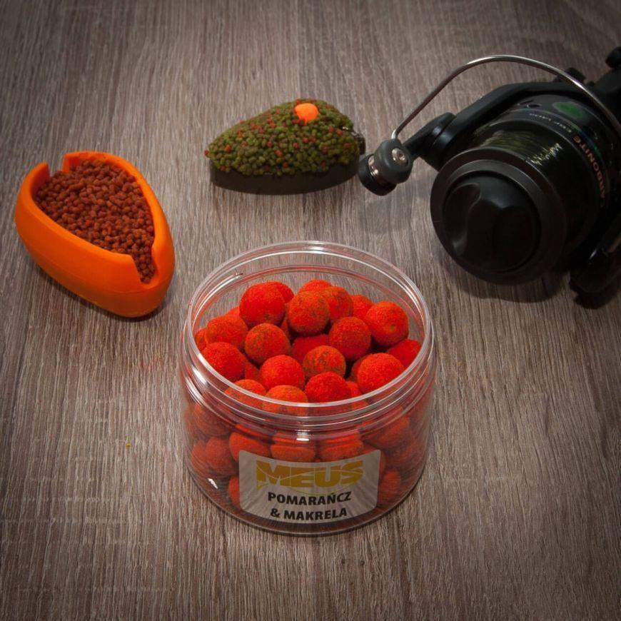 Meus Kulki Hakowe Tonące Spectrum 12Mm Pomarańcza & Makrela