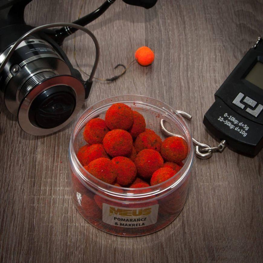 Meus Kulki Hakowe Tonące Spectrum 18Mm Pomarańcza & Makrela