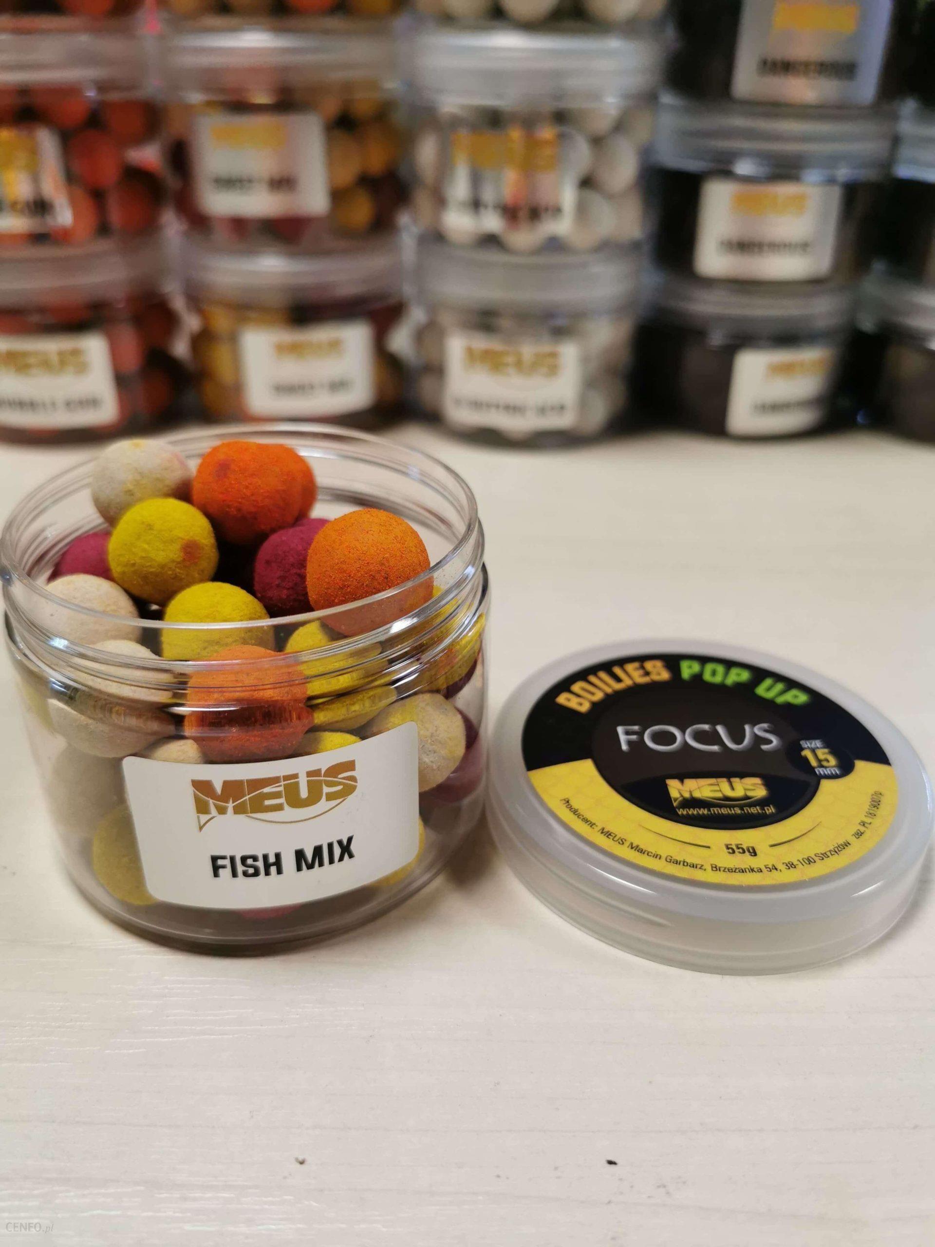 Meus Kulki Pop Up Focus 15Mm Fish Mix