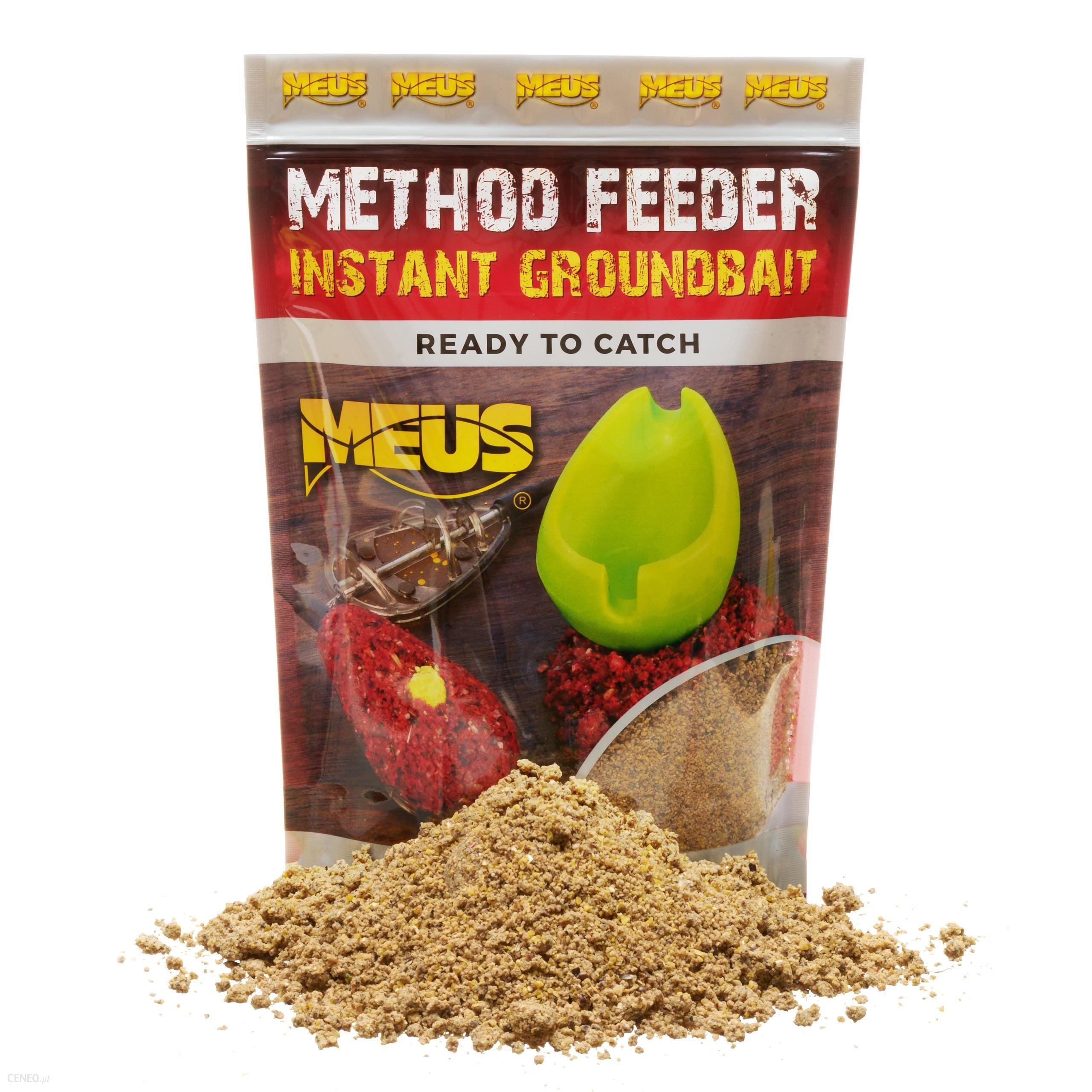 Meus Method Feeder Instant Groundbait Czekolada & Marcepan Gotowa Zanęta
