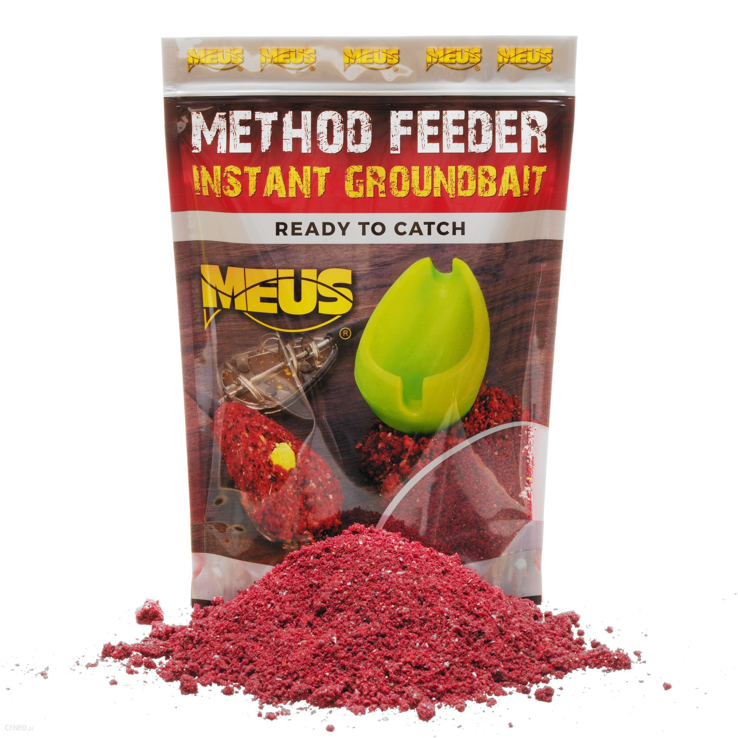 Meus Method Feeder Instant Groundbait Miód & Malina Gotowa Zanęta