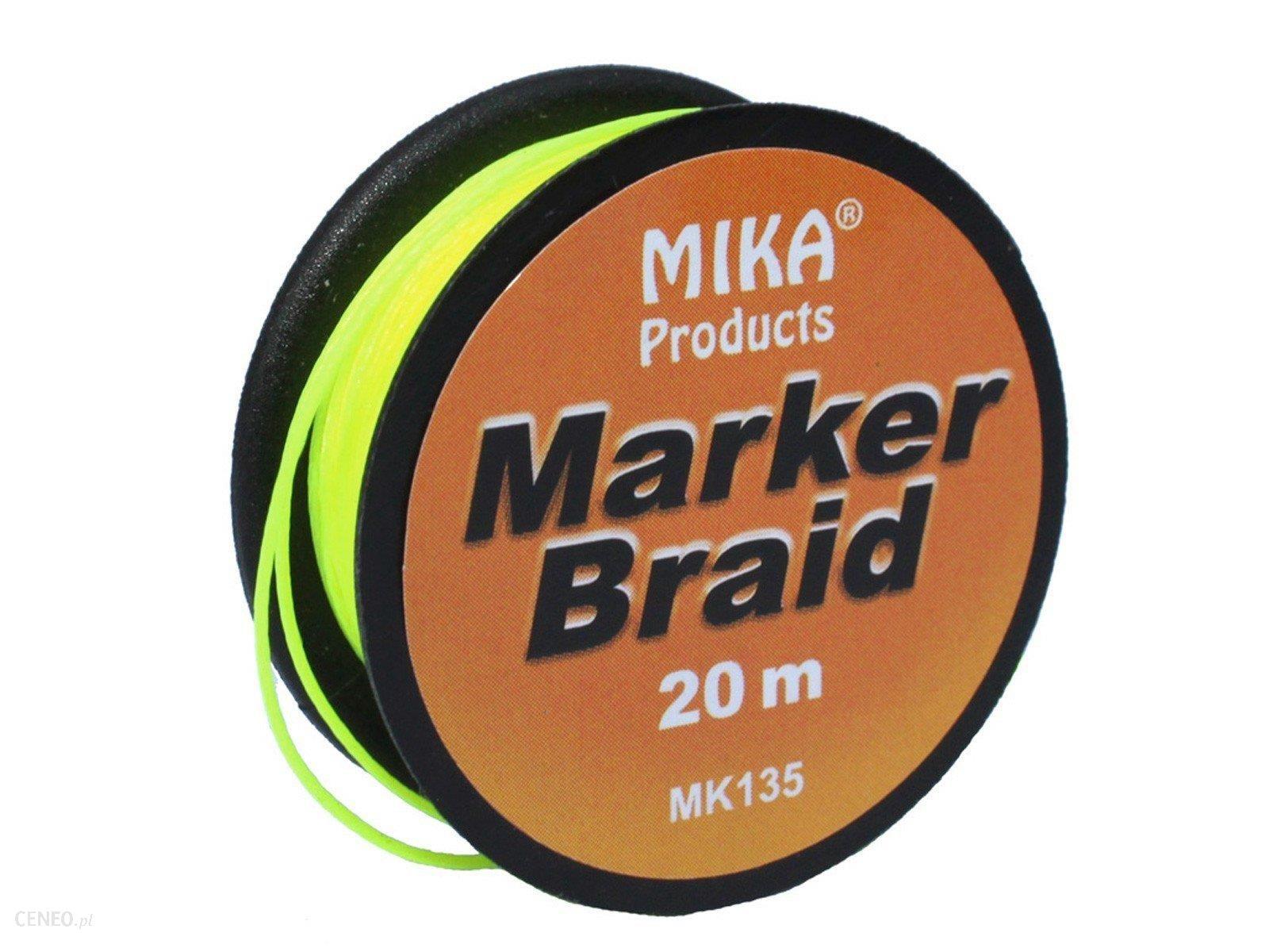 Mika Products Marker Braid 20 M Żółty