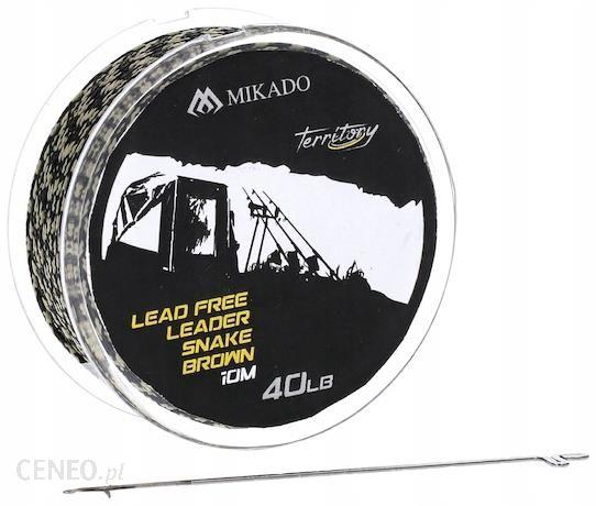 Mikado Lead Free Leader Snake 40lb/10m (AMC-LFL40)