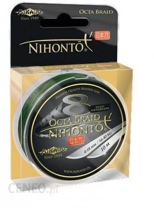 MIKADO PLECIONKA NIHONTO OCTA BRAID 020 GREEN 150m (Z24G020)