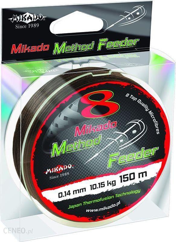 Mikado Plecionka Octa Method Feeder 010 Brązowa 150M (Z42-010)