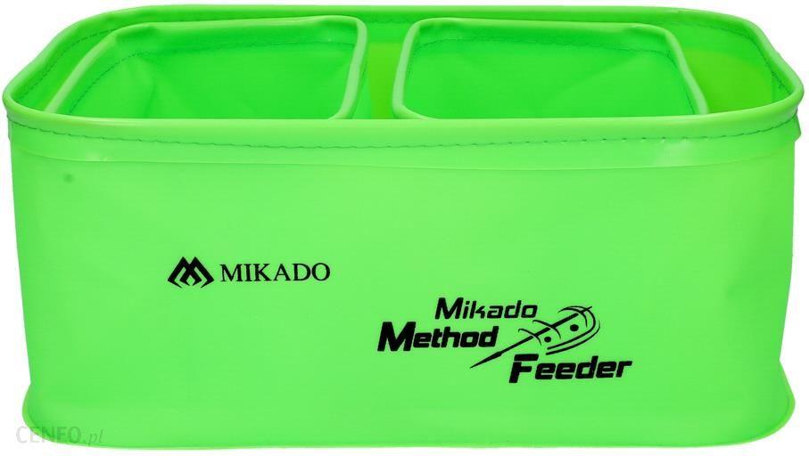 Mikado Pojemnik Eva Method Feeder 005 Zestaw 35X26X15Cm 1Szt + 16X22X14Cm 2Szt