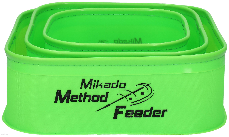 Mikado Pojemnik Eva Method Feeder 007 Zestaw 18X18X8Cm 1Szt + 22X22X8Cm 1Szt + 26X26X8Cm 1Szt