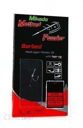 Mikado Przypony Method Feeder Rig 10Cm Hair Size 6