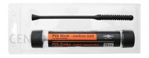 MIKADO PVA SIATKA 44 mm / 5 m Z TUBĄ I TŁOKIEM WOLNO ROZPUSZCZALNA (APVMETP44S)