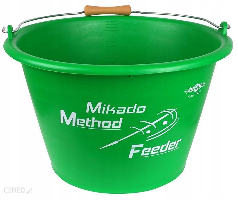 MIKADO WIADRO METHOD FEEDER 17L (ZIELONE)