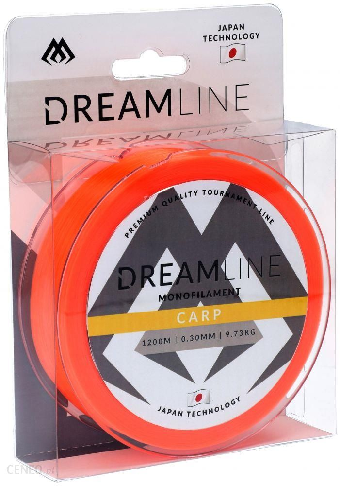 Mikado Żyłka Dreamline Carp 0.38mm/1200m - Fluo