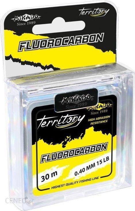 Mikado Żyłka Fluorocarbon Carp Territory 0.40Mm6.80Kg30M 1Szp (zft040)