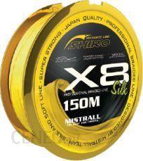 Mistrall Plecionka Shiro Silk Braided Line X8 0