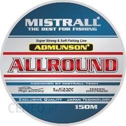Mistrall Żyłka Admunson Allround 150M 0