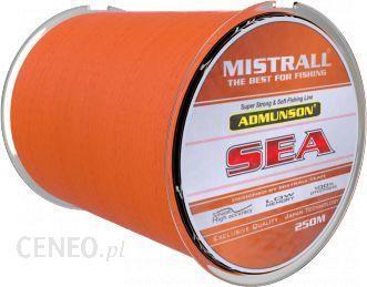 Mistrall Żyłka Admunson SEA orange 250m 0