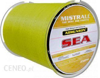 Mistrall Żyłka Admunson SEA yellow 250m 0