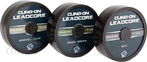 Nash Cling-On Leadcore Silt 45Lb 7M (T8400)