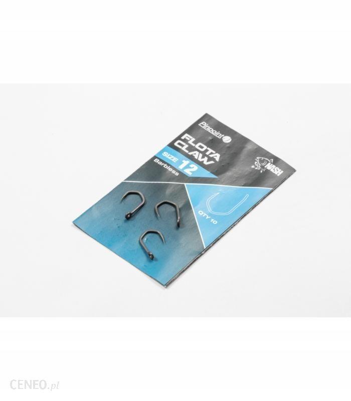 NASH HACZYKI FLOTA CLAW SIZE 8 - BARBLESS T6182