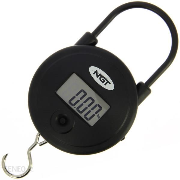 Ngt Quickfish Scales Digital Round 55Lb 25Kg Waga