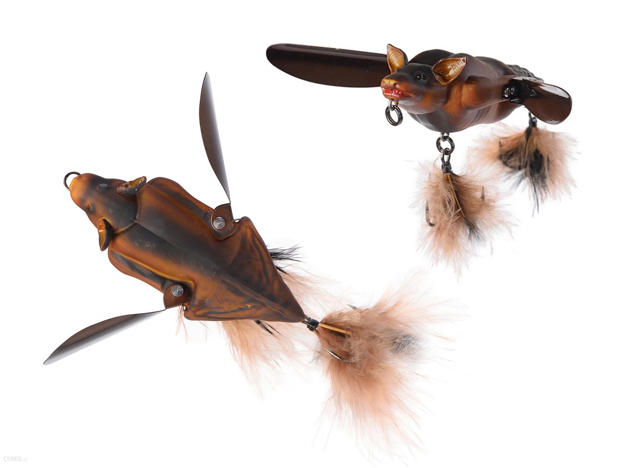 Nietoperz Sg 3D Bat Savage Gear 10cm 28g Brązowy