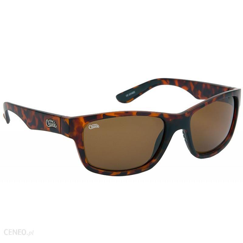 Okulary Polaryzacyjne Fox Chunk Sunglasses Brown model CSN042