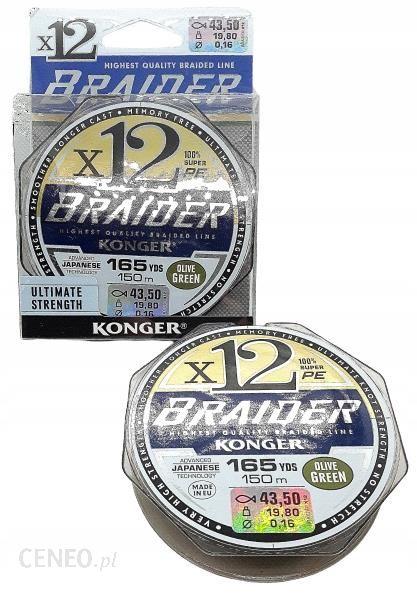 Plecionka Konger Braider X12 0
