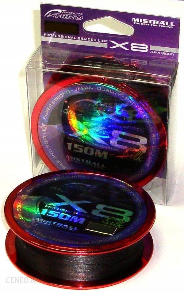 Plecionka Shiro X8 Czarna 0