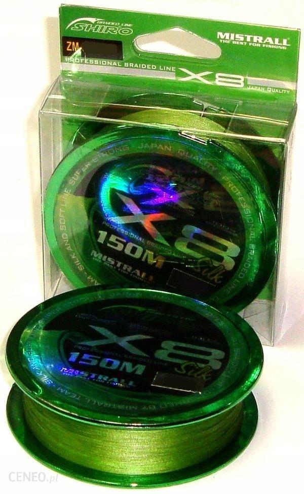 Plecionka Shiro X8 Zielona 0