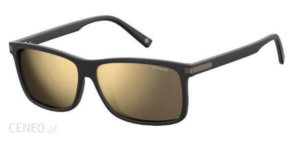 Polaroid Matte Black Grey Gold Mirror Polarized Pld 2075 S X Okulary Przeciwsloneczne Polaryzowane