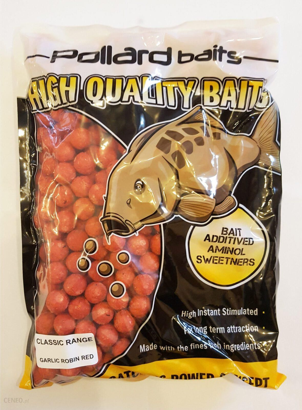 Pollard Baits Kulki Proteinowe Classic Range Garlic Robin Red 16Mm 2Kg Czosnek & Robin Red