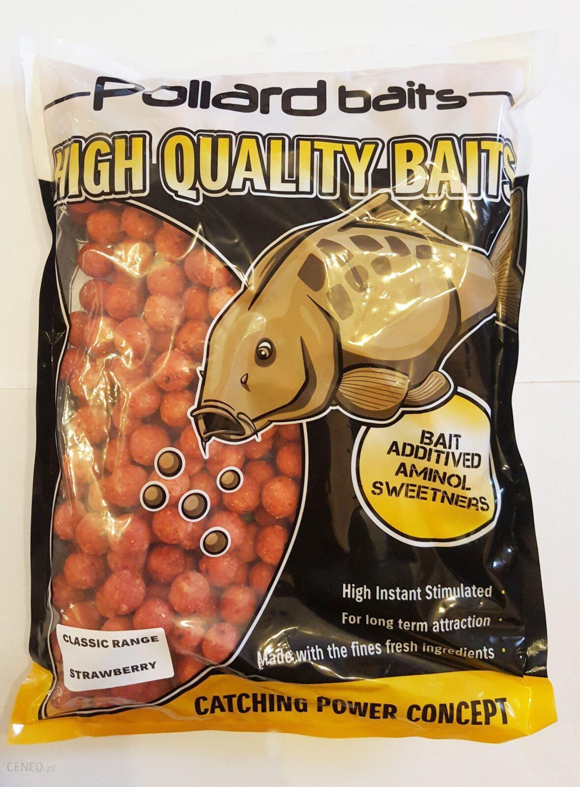 Pollard Baits Kulki Proteinowe Classic Range Tropic Strawberry 16Mm 2Kg Truskawka Tropikalna