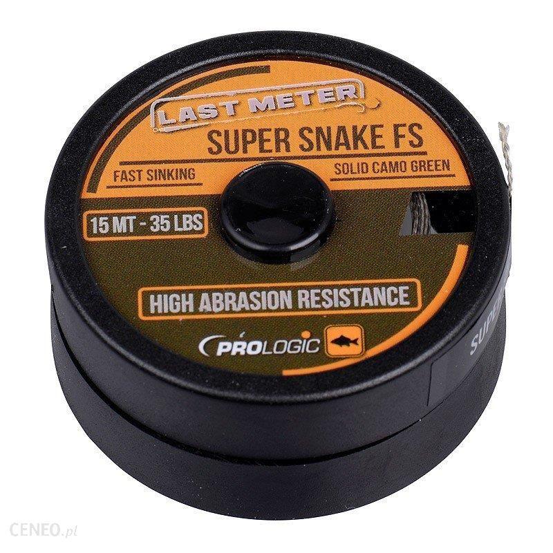 Prologic Plecionka Przyponowa 15 M 25 Lbs Super Snake Fs