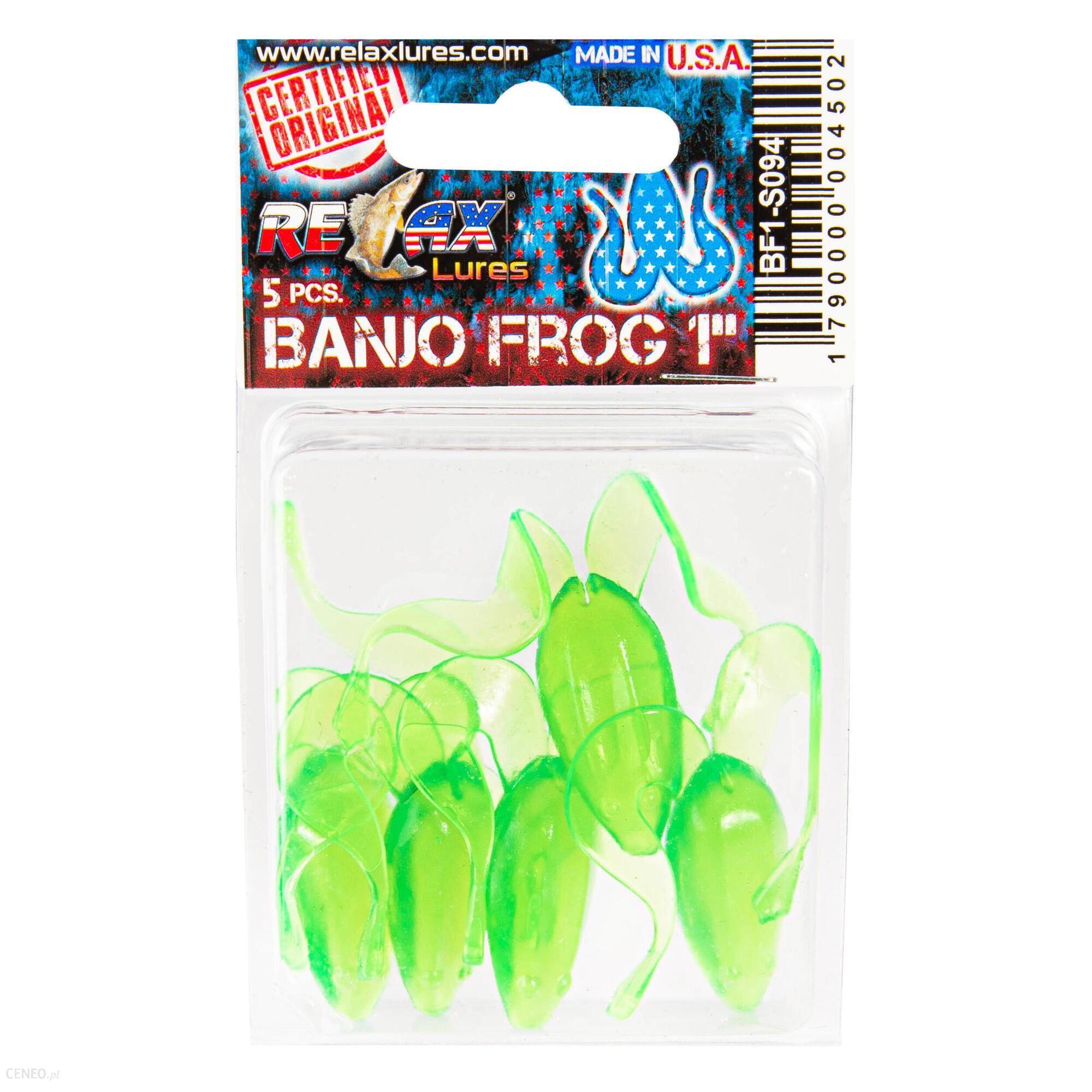 Relax Przynęta Gumowa Banjo Frog 1 (7)