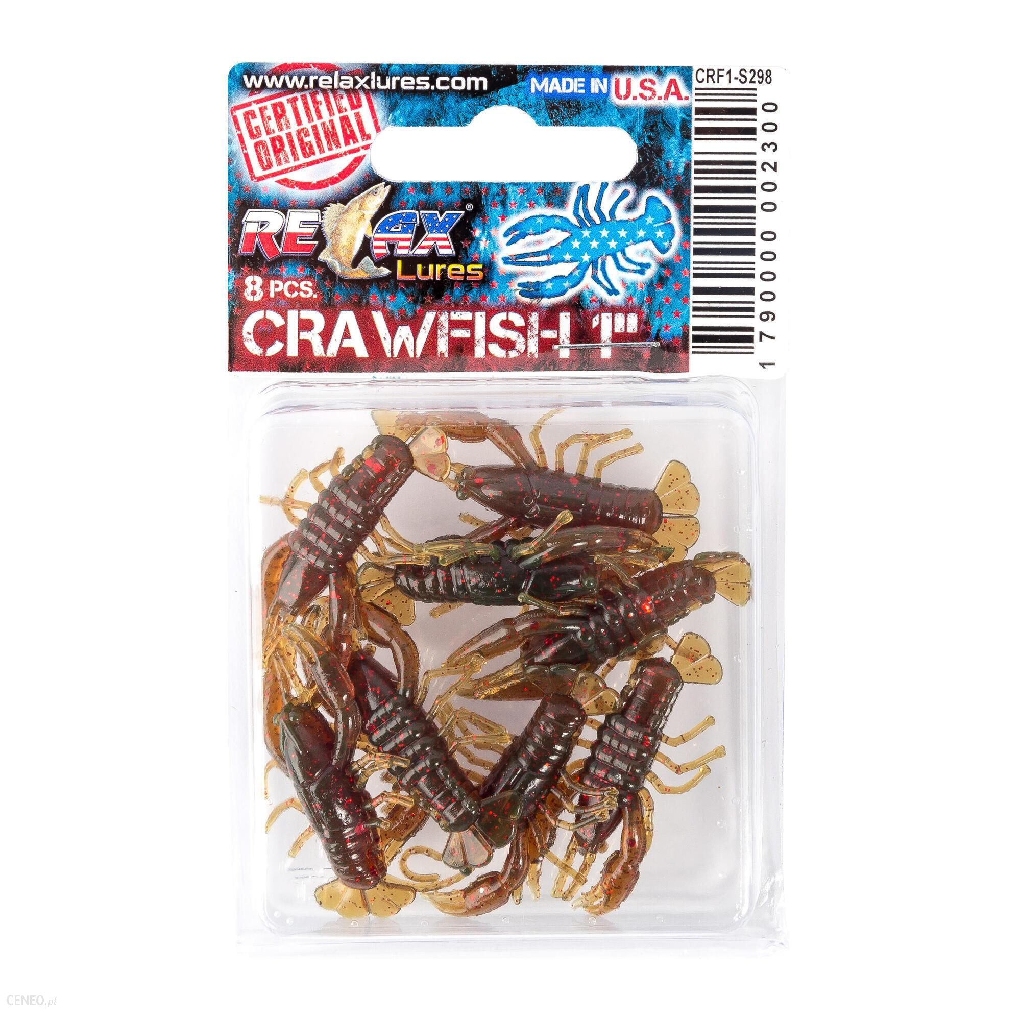 Relax Przynęta Gumowa Crawfish 1 (6)