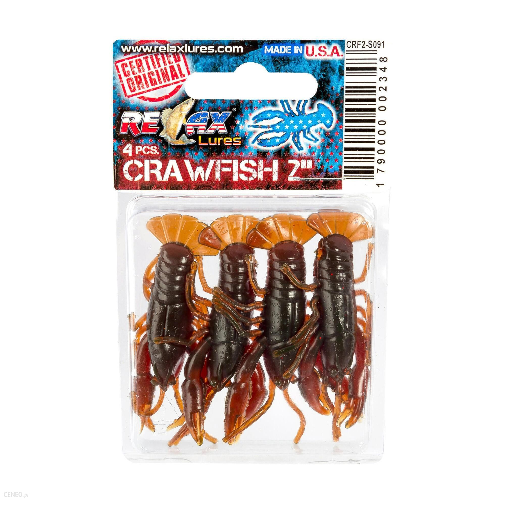 Relax Przynęta Gumowa Crawfish 2 (15)