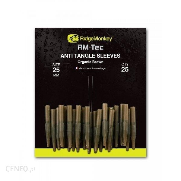 Ridge Monkey Ridge Monkey Anti Tangle Sleeves 25Mm Brown