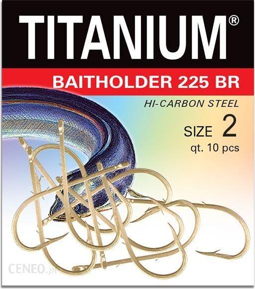 Robinson Haczyk Titanium BAITHOLDER 10szt r 8 (02-P-225BR)