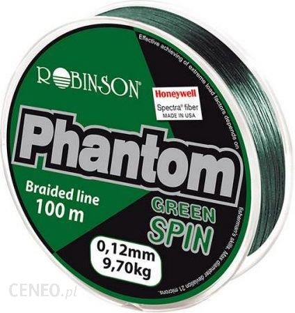 Robinson Plecionka Phantom Green Spin 0.18mm 100m zielona (56pt018)